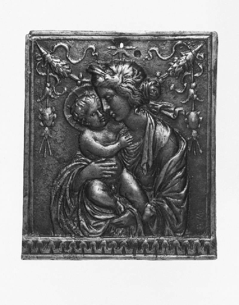The Virgin and Child with a garland (WA1888.CDEF.B655)