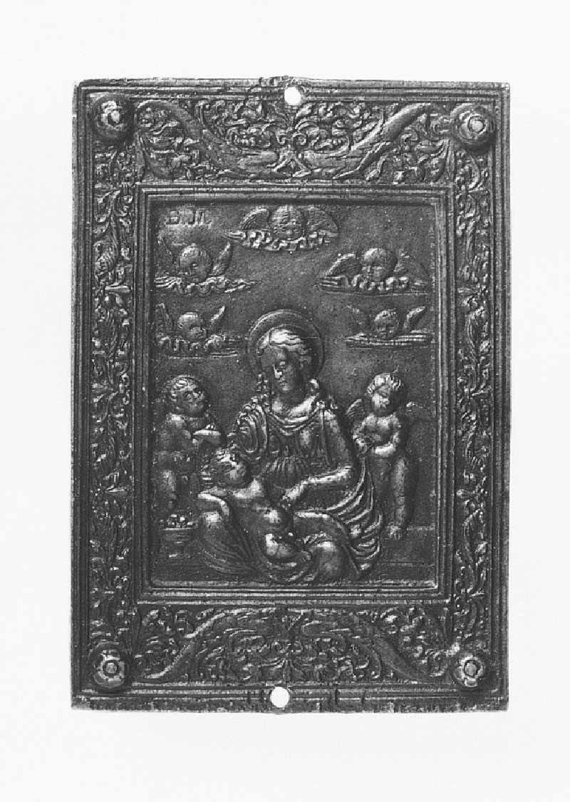 The Virgin and Child with two angels (WA1888.CDEF.B656)