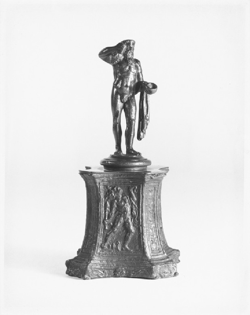 Octagonal pedestal with bacchic figures (WA1888.CDEF.B712)