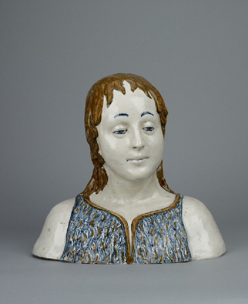 Bust of the young St John the Baptist