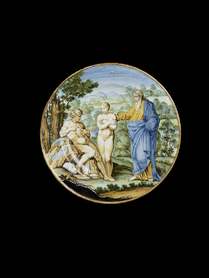 Plate with The Creation of Eve