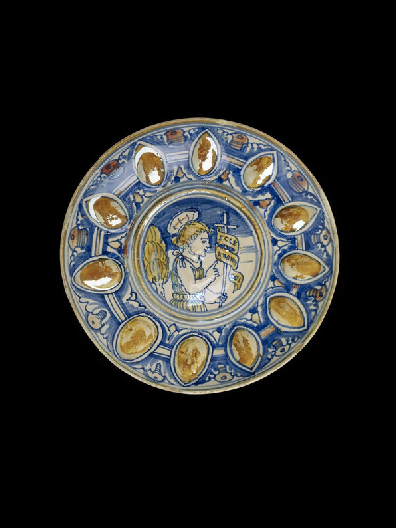 Bowl with the young St John the Baptist