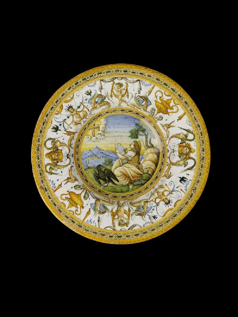 Plate with The Vision of St John the Divine