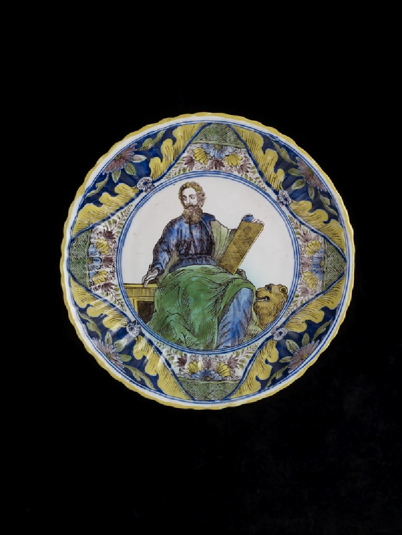 Bowl with St Mark