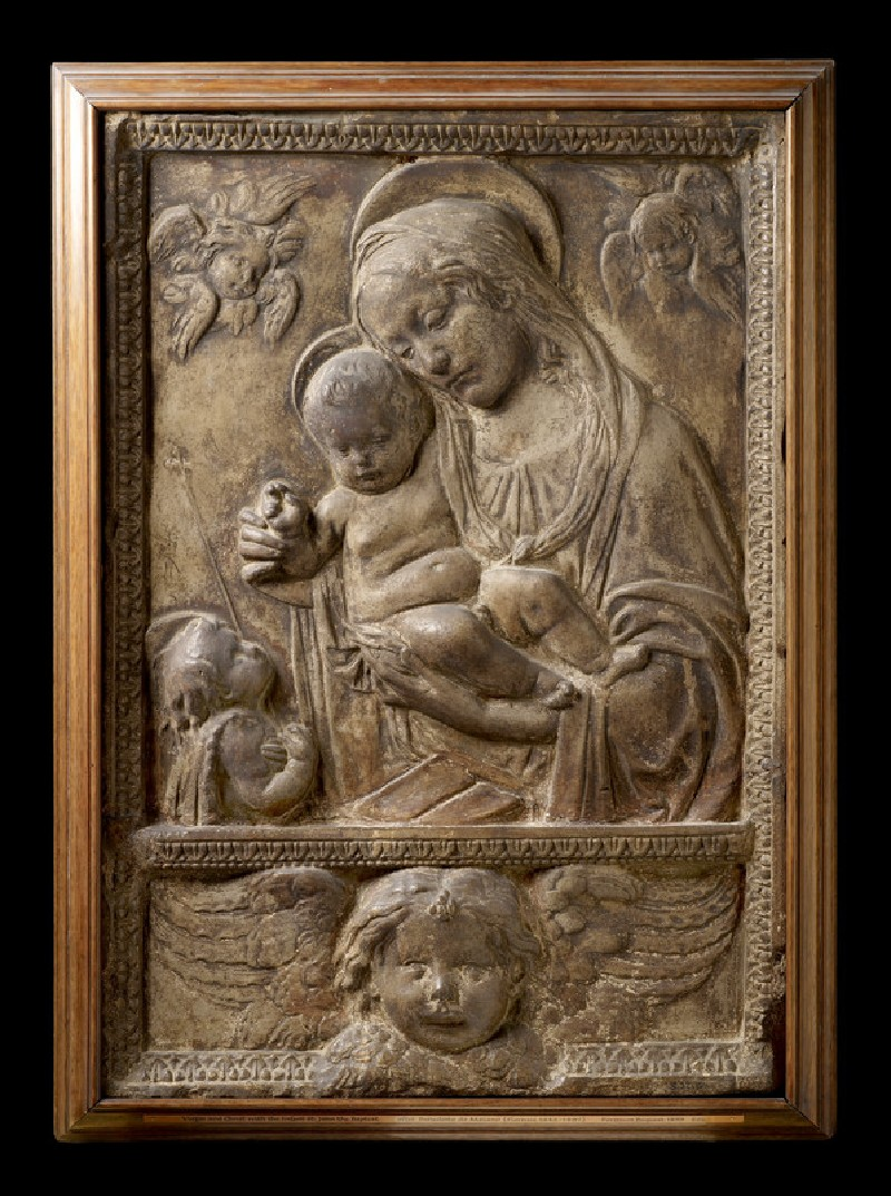 The Virgin and Child with the Infant St John Baptist (WA1888.CDEF.S22)