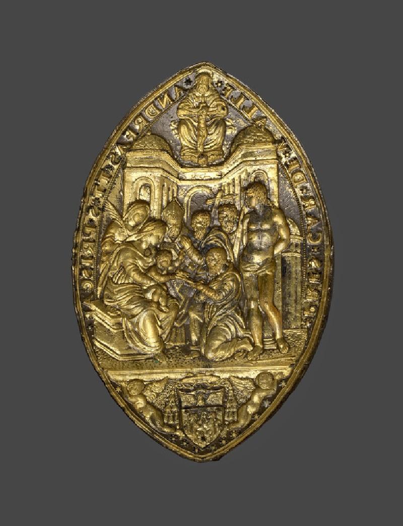 Seal of Cardinal Andrea della Valle (WA1889.CDEF.B1131)
