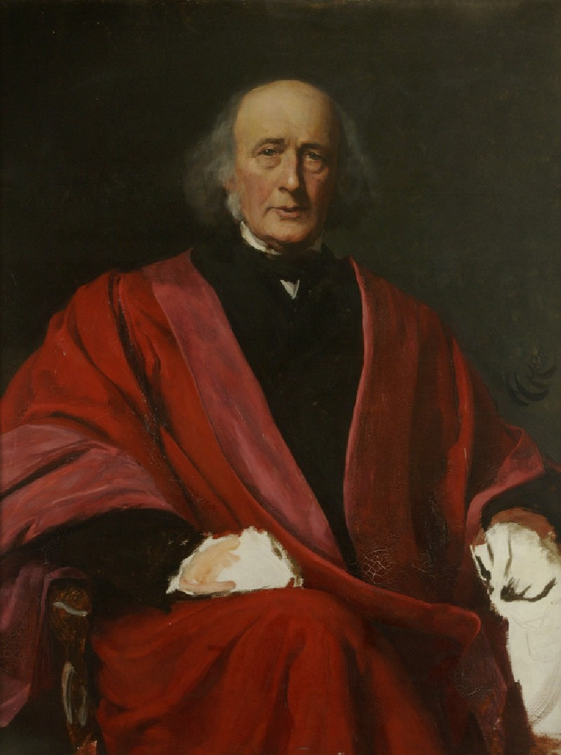 Study of Sir Henry Wentworth Acland (WA1891.3)