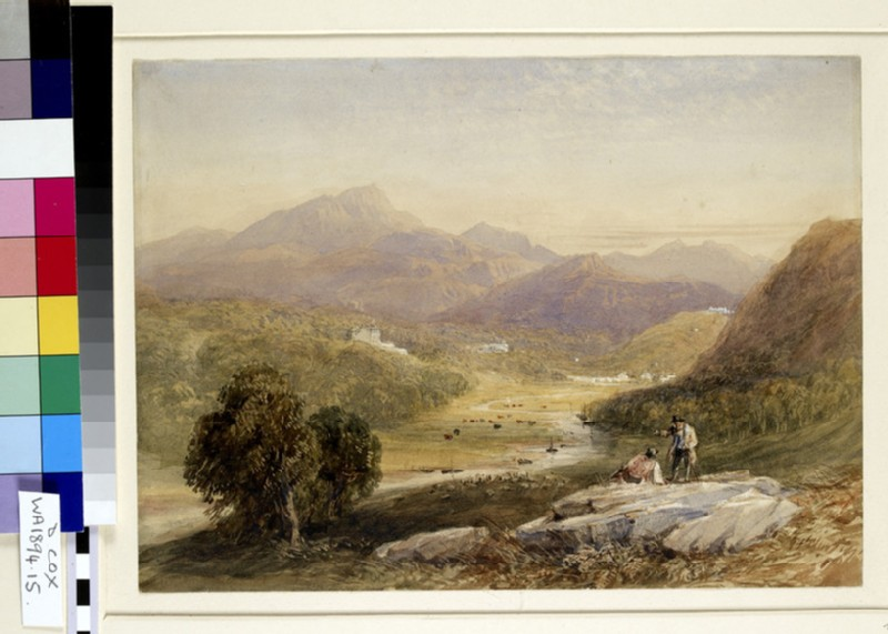 The Vale of Ffestiniog, Merionethshire