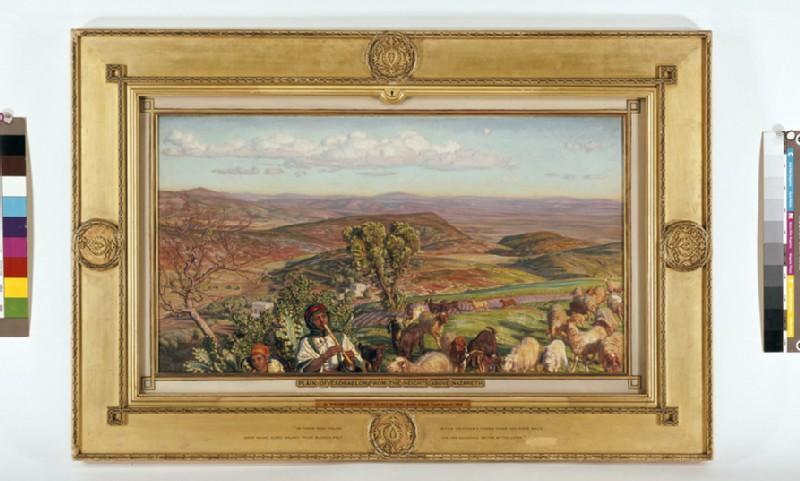 Plain of Esdraelon from the Heights above Nazareth (WA1894.6)