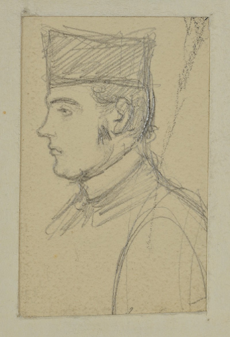 Profile Sketch of the Revd John Hungerford Pollen