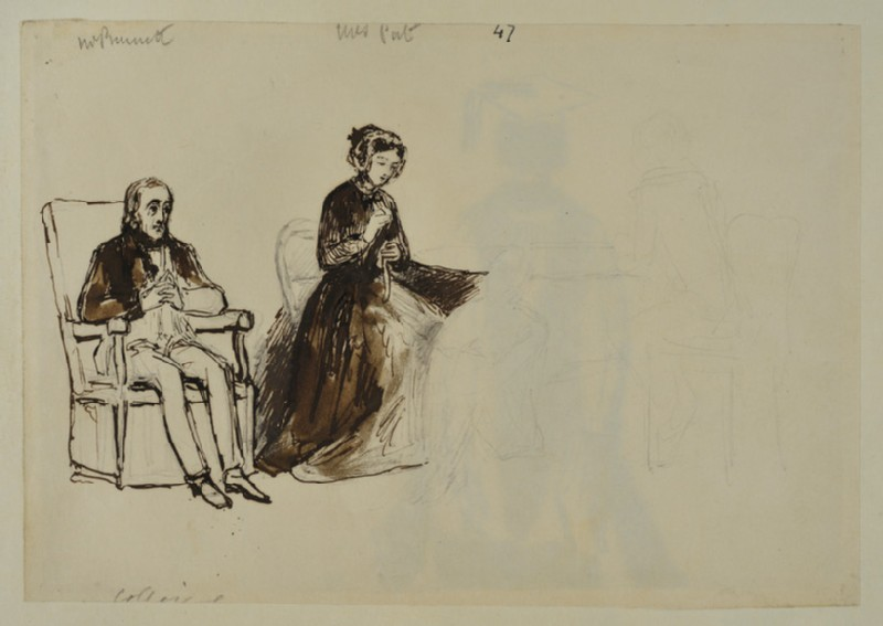 Sketch for 'An Evening at the Combes' House'