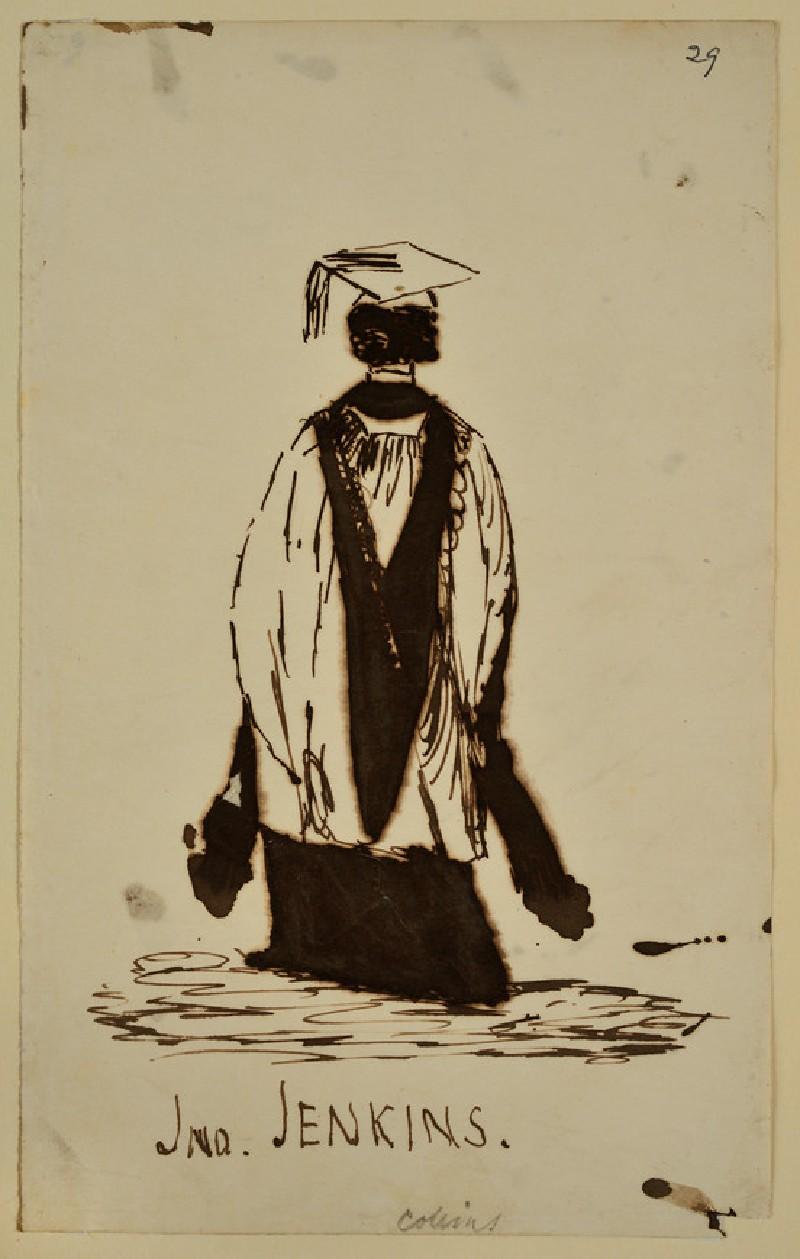 Back View of the Rev. John David Jenkins (possibly) (WA1894.61.31)