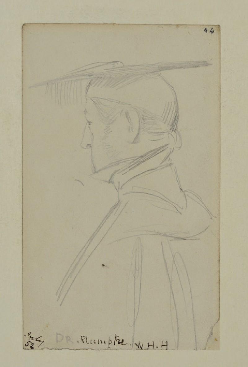 Portrait of Frederick Charles Plumptre