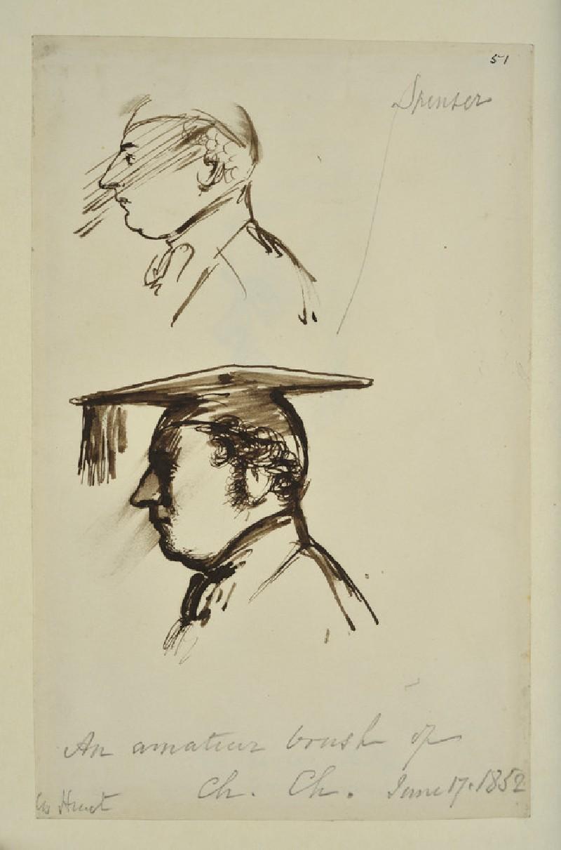 Portraits of William Henry Spencer