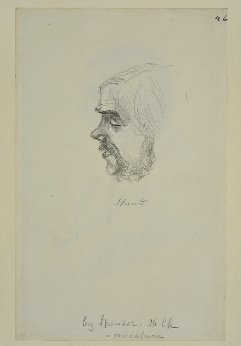 Portrait of William Holman Hunt