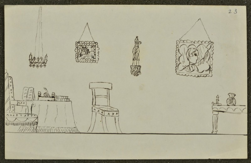Sketch of a Room (WA1894.61.51)