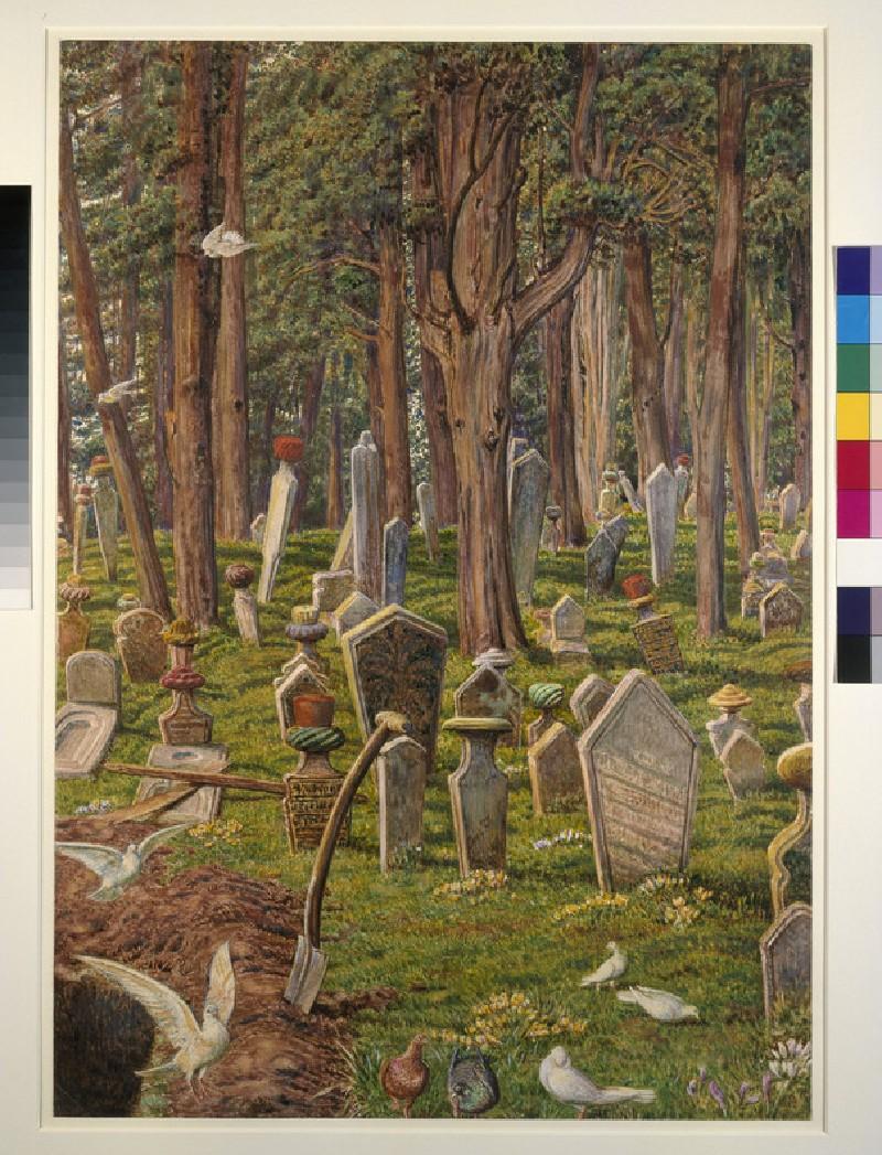 The Sleeping City: the Cemetery of Pera, Constantinople (WA1894.7)