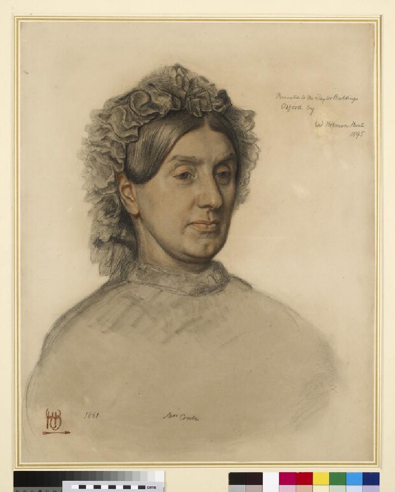 Mrs Thomas Combe (1806-1893)