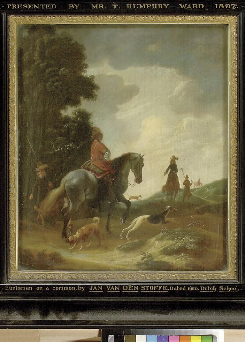 Huntsmen in a Landscape (WA1897.5)