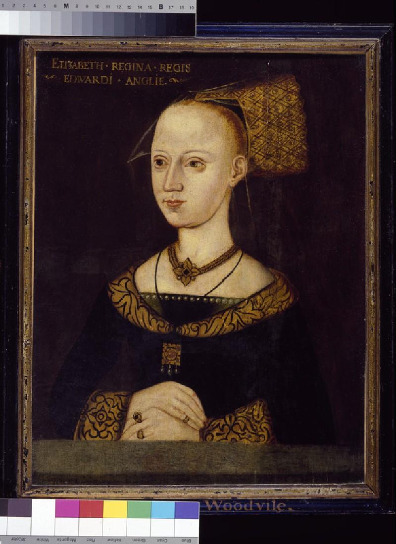 Elizabeth Woodville, Queen of Edward IV (WA1898.1)