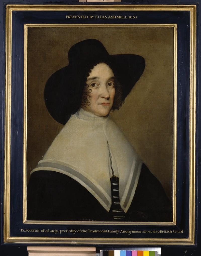 Hester Pookes, second Wife of John Tradescant the Younger (WA1898.15)