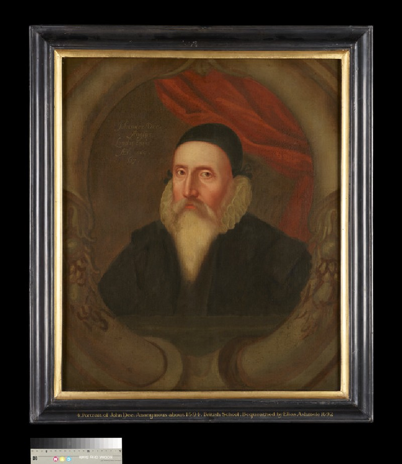 Portrait of John Dee (1527-1608)
