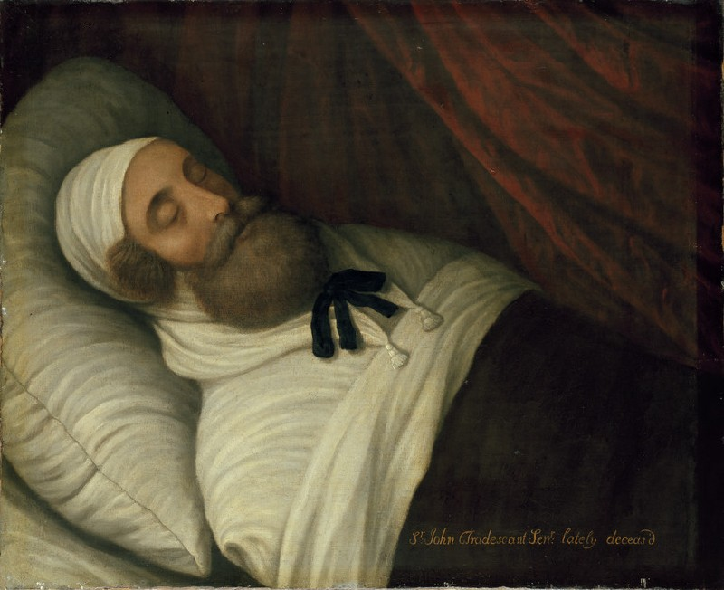 John Tradescant the Elder on his Deathbed (WA1898.9)