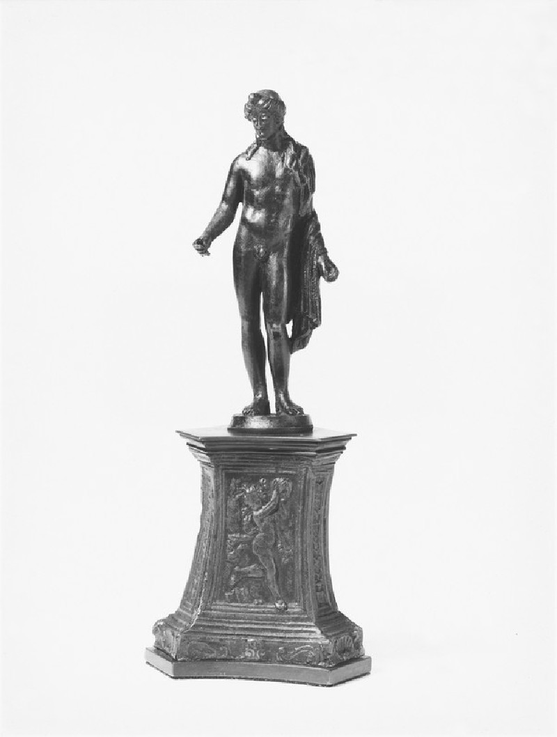 Male standing figure, probably Apollo