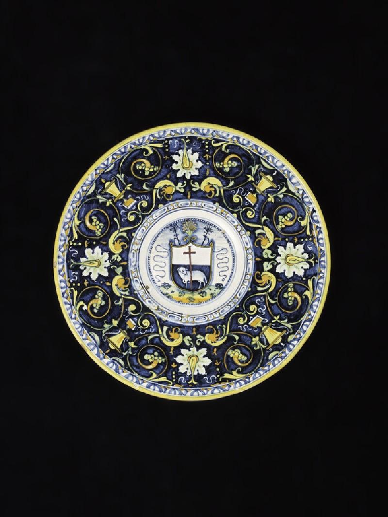 Plate with the Agnus Dei (Lamb of God) (WA1899.CDEF.C409)