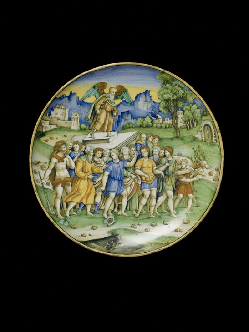 Bowl with The Triumph of Time