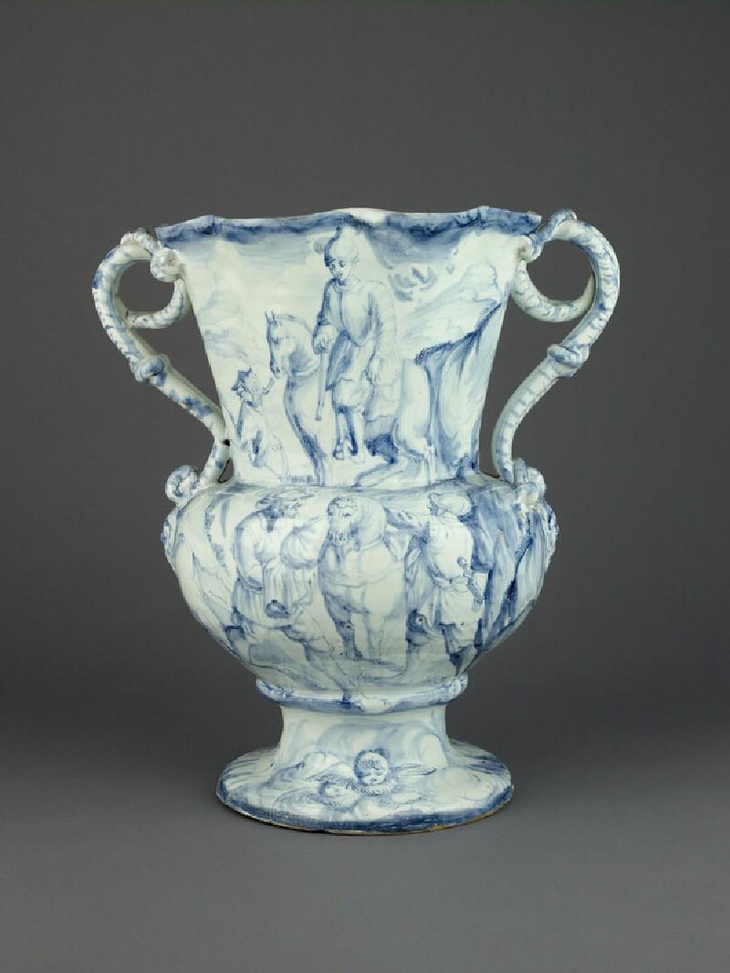 Jar, one of a pair