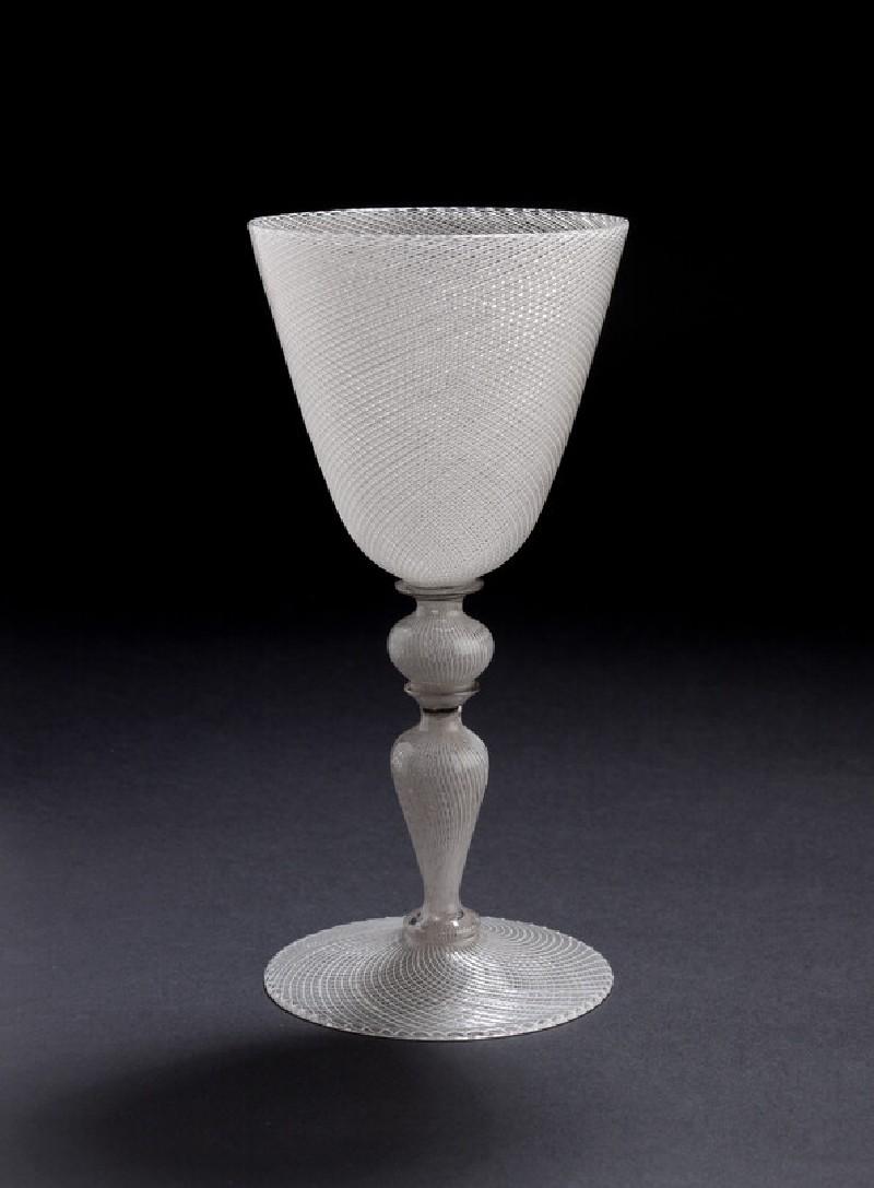 Wineglass in vetro a reticello (WA1899.CDEF.G76)