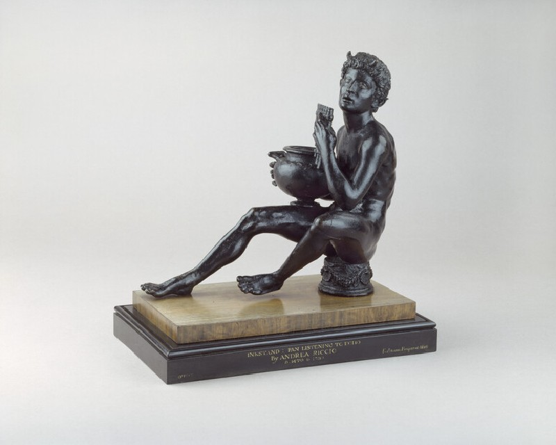 Inkstand, 'Pan listening to Echo' (WA1899.CDEF.B1077)