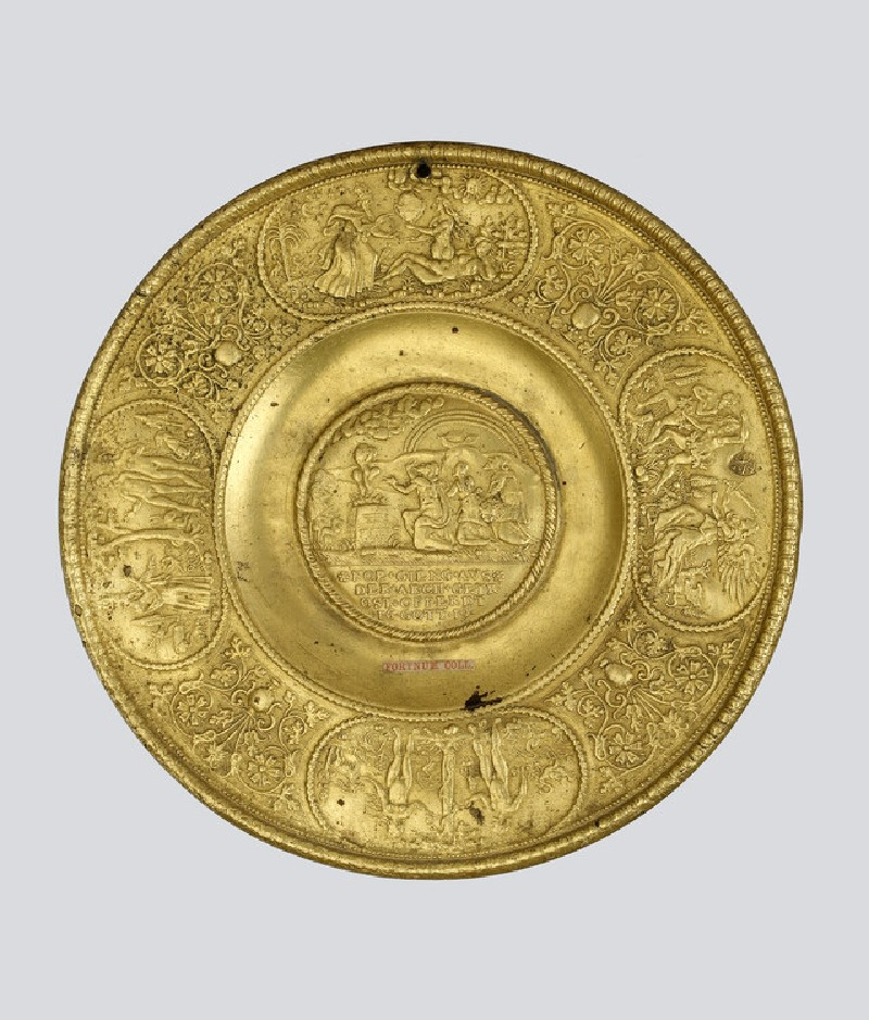Dish with Noah and other Old Testament scenes