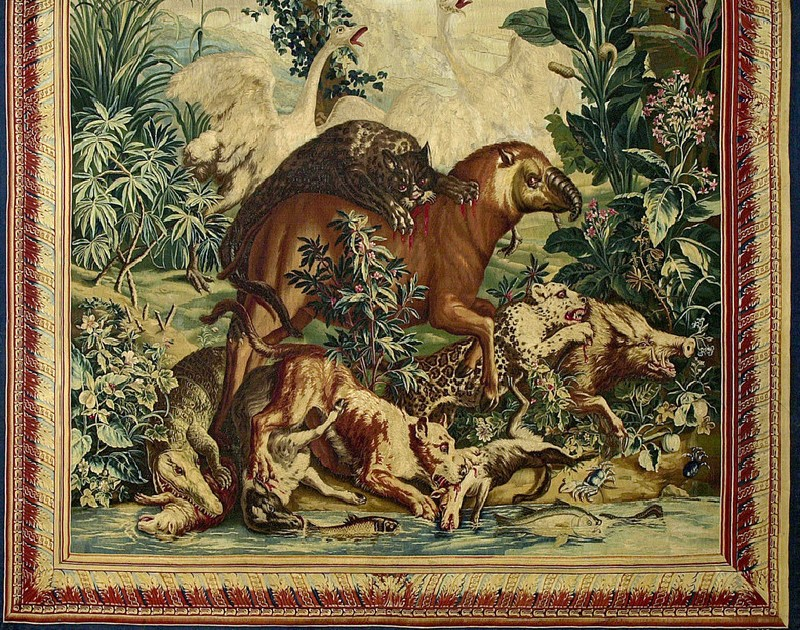 The Battle of the Animals (detail          )