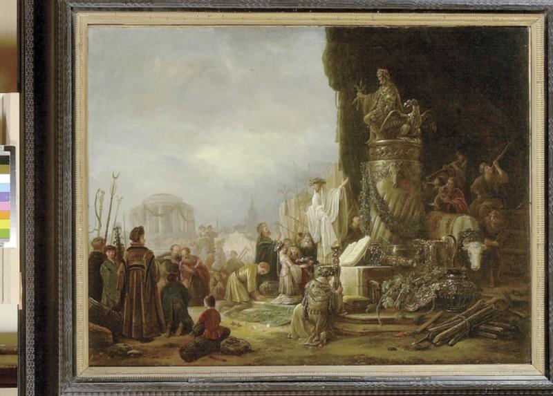 Paul and Barnabas at Lystra (WA1907.4)