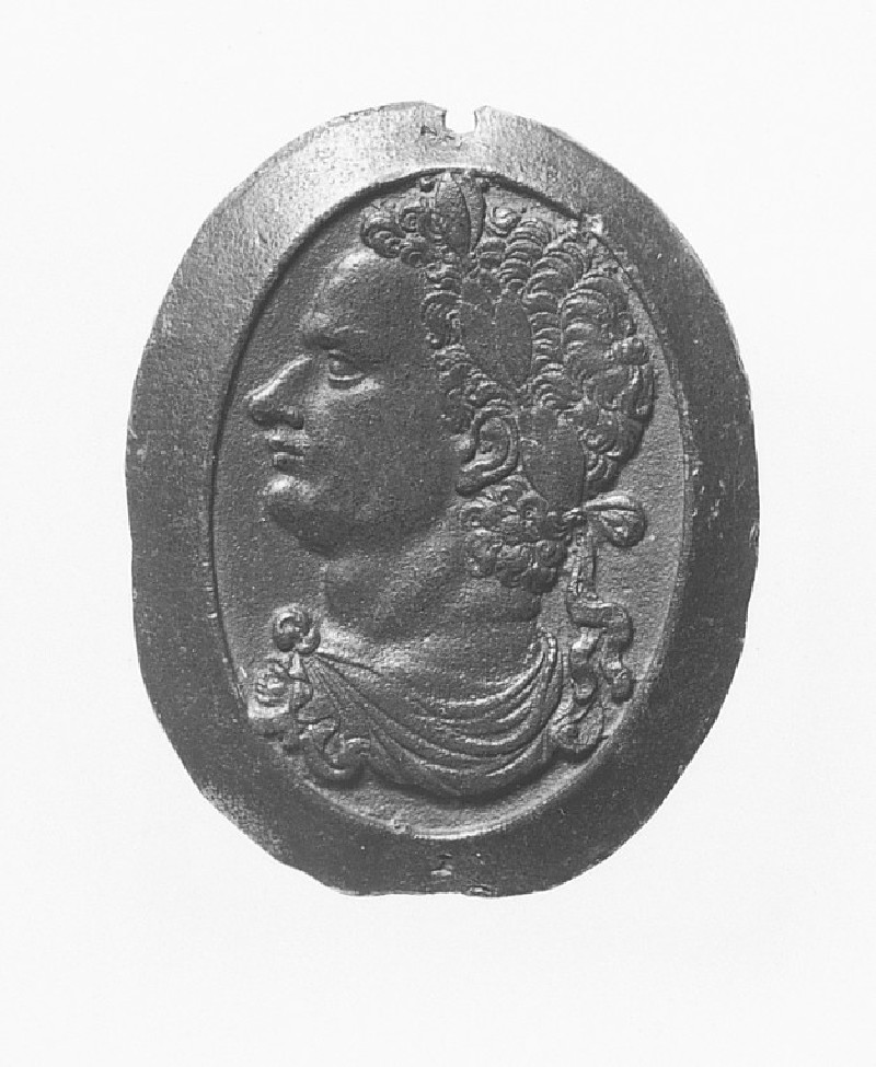 Portrait bust of an Emperor, probably Domitian