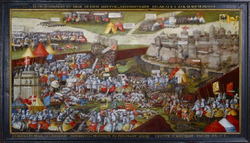 The Siege and Battle of Pavia (WA1908.226)