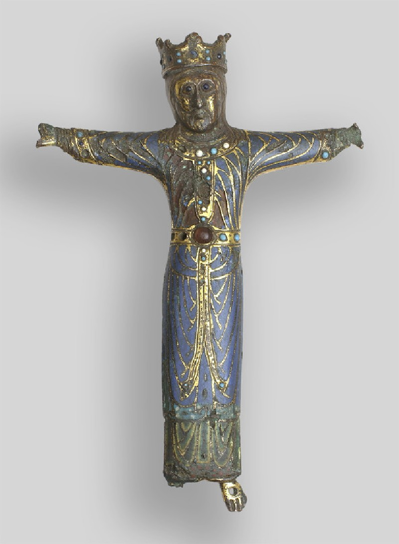 Crucified Christ in a Colobium (WA1908.233)