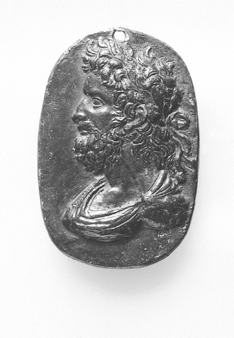 Portrait bust of an Emperor