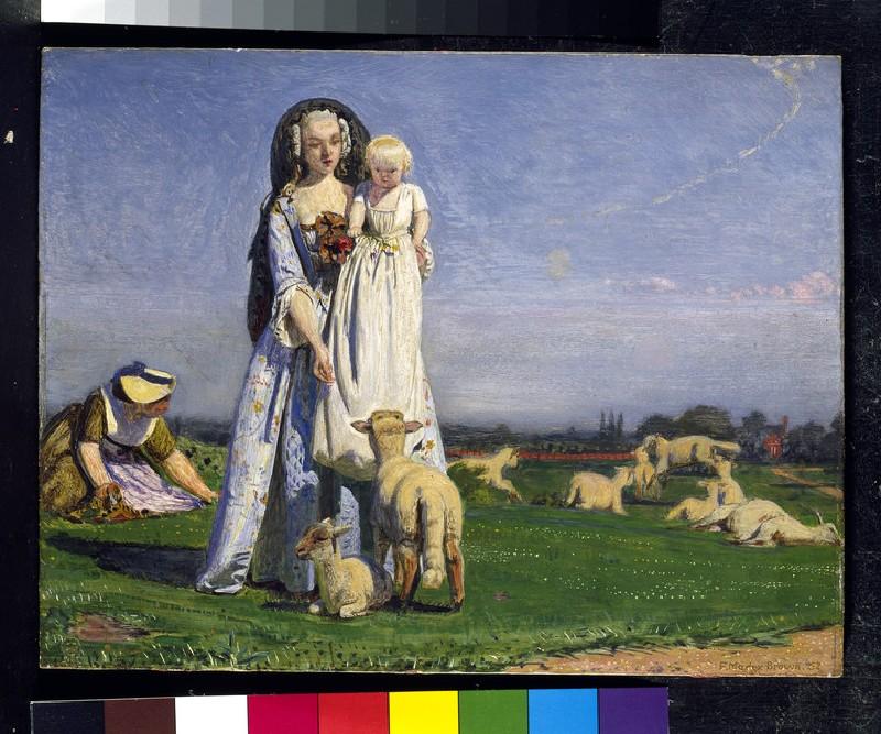 The pretty Baa-Lambs (WA1909.2)
