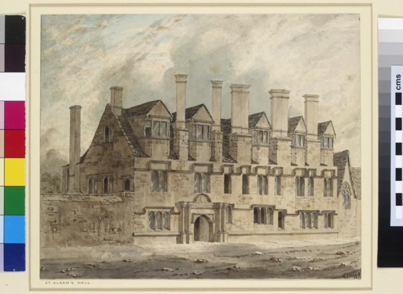 St Alban's Hall, Oxford (WA1909.5)