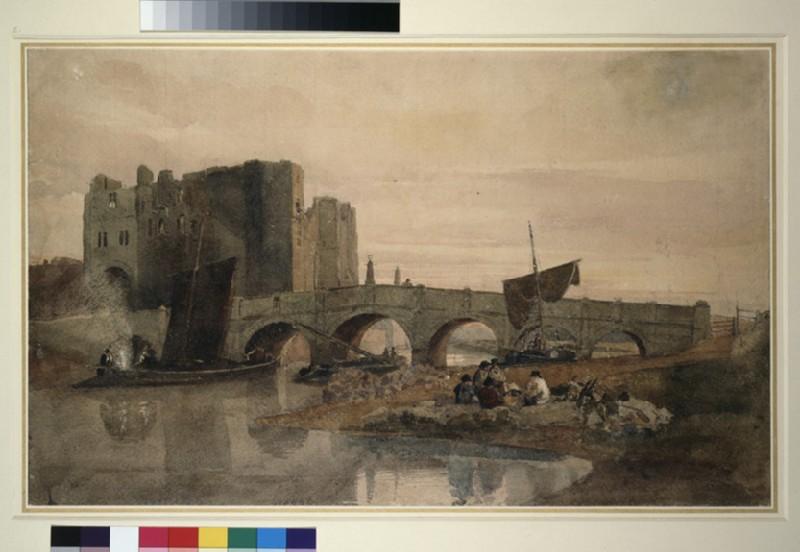 Newark Bridge and Castle, Nottinghamshire