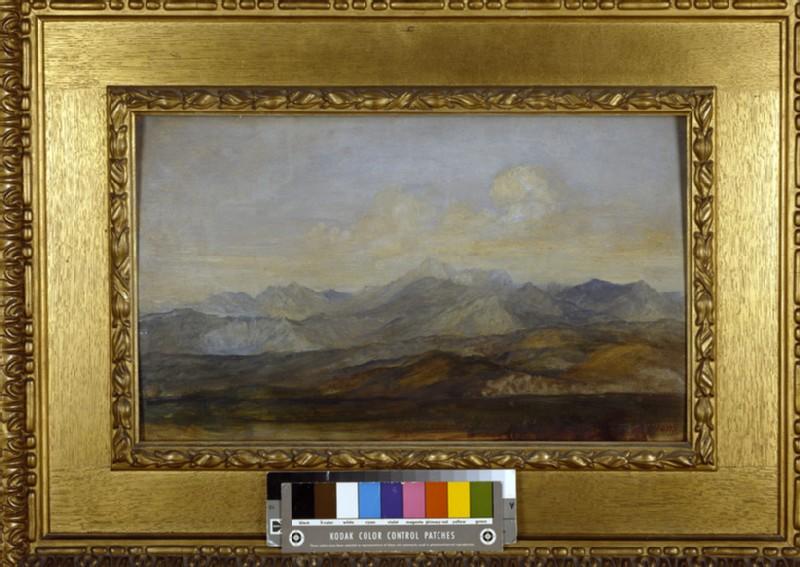 The Carrara Mountains from Pisa (WA1915.63)
