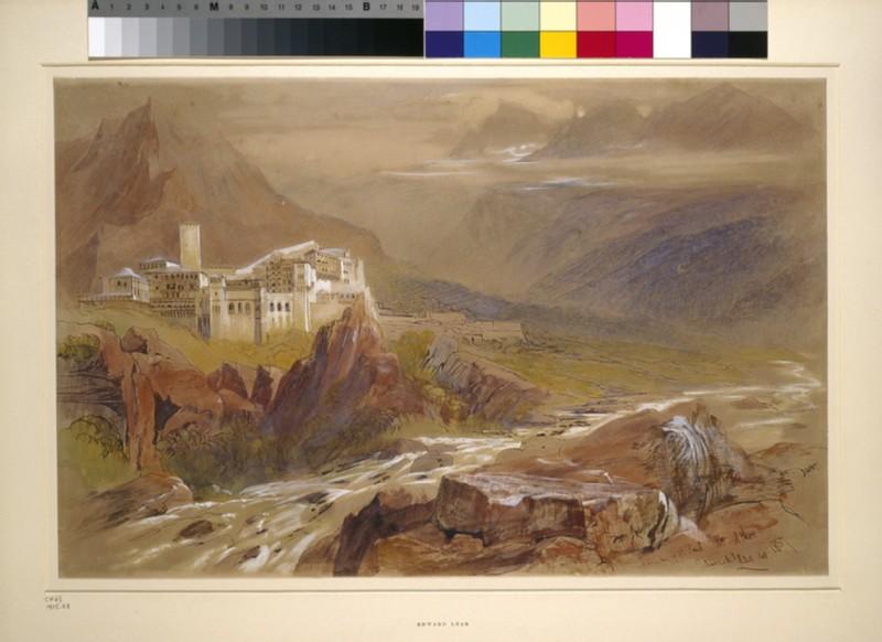 The Monastery of St Paul, Mount Athos (WA1915.68, WA_1915_68)
