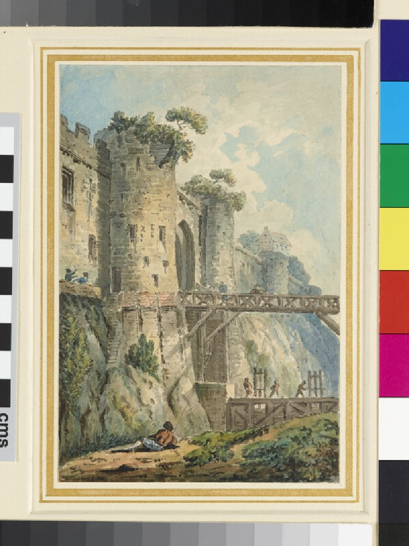 The Porte de Cornillon, Meaux (WA1916.21)