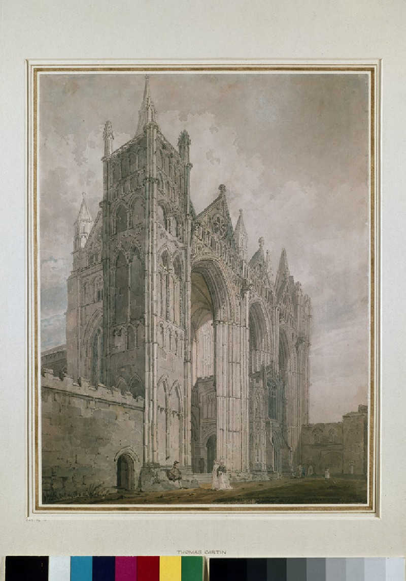 West Front of Peterborough Cathedral (WA1916.4)