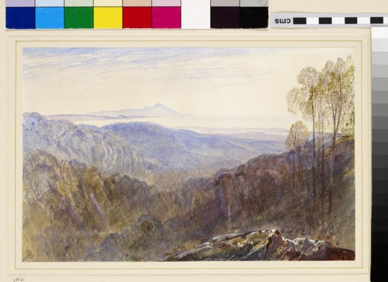 Distant View of Mount Athos