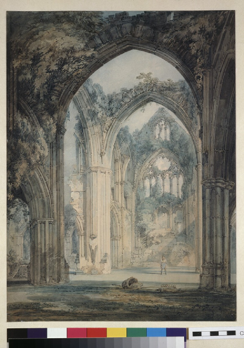 Transept of Tintern Abbey, Monmouthshire