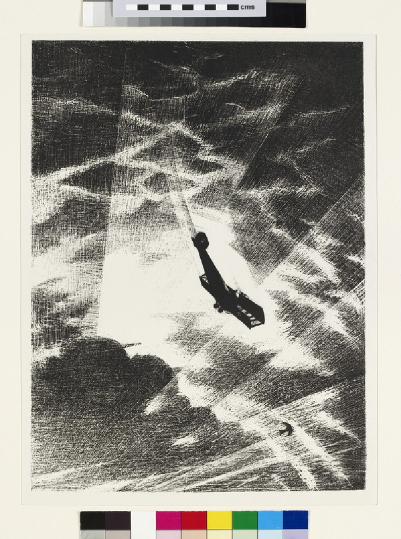 Swooping down on a Taube (WA1919.31.42)